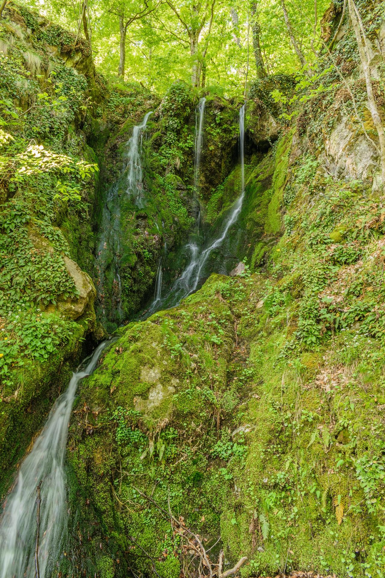 Водопадче към Бяла река