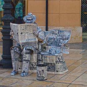 Човекът вестник