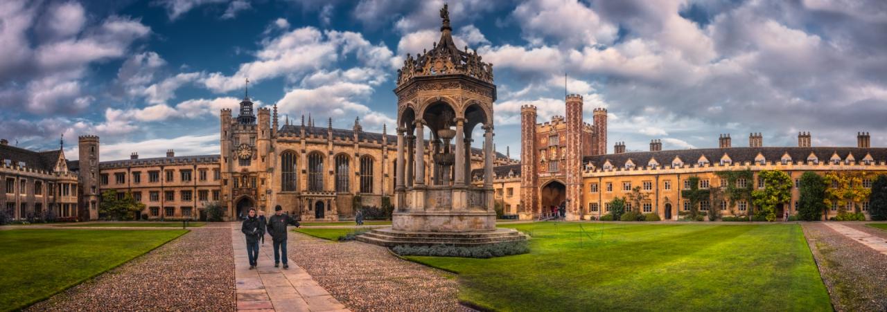 Trinity College, Trinity College Chapel и...дворчето - две кликвания