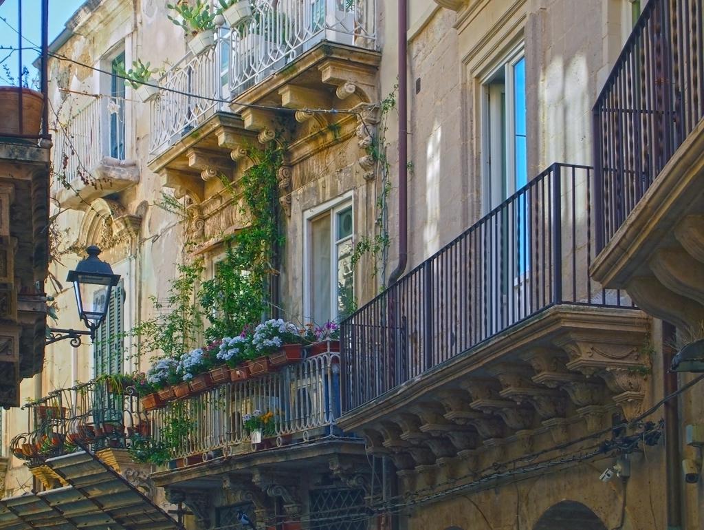 Сиракуза - Балкони