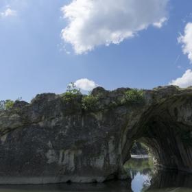 Скалния мост край Ъглен