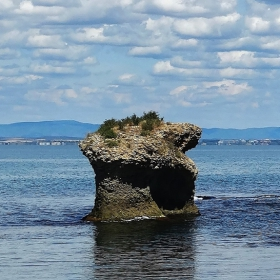 Каменната гъба пред остров Света Анастасия