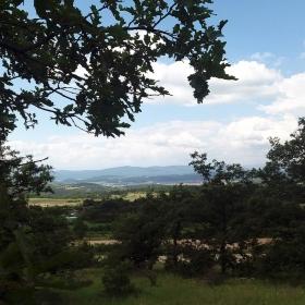 Средногорски поглед към Панагюрище