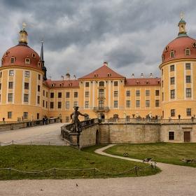 Ловен замък Moritzburger, XVI век
