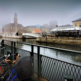 Мъгливо утро в Малмьо