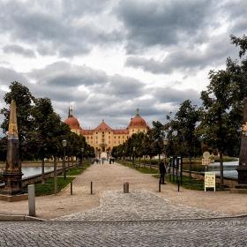 Moritzburger, кралската алея