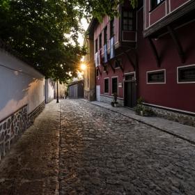 Залез в Стария Пловдив