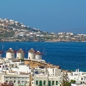 Миконос - Вятърни мелници