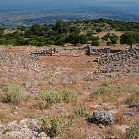 Големият театър в Kassope,  III век пр.Хр.*