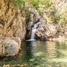 Водопад на река Фониас