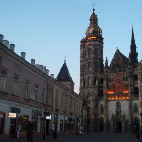 Катедралата привечер