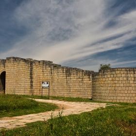 Велики Преслав, южната крепостна стена на вътрешния град, Х век