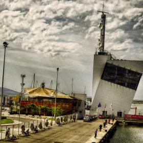 Край бургаската морска гара