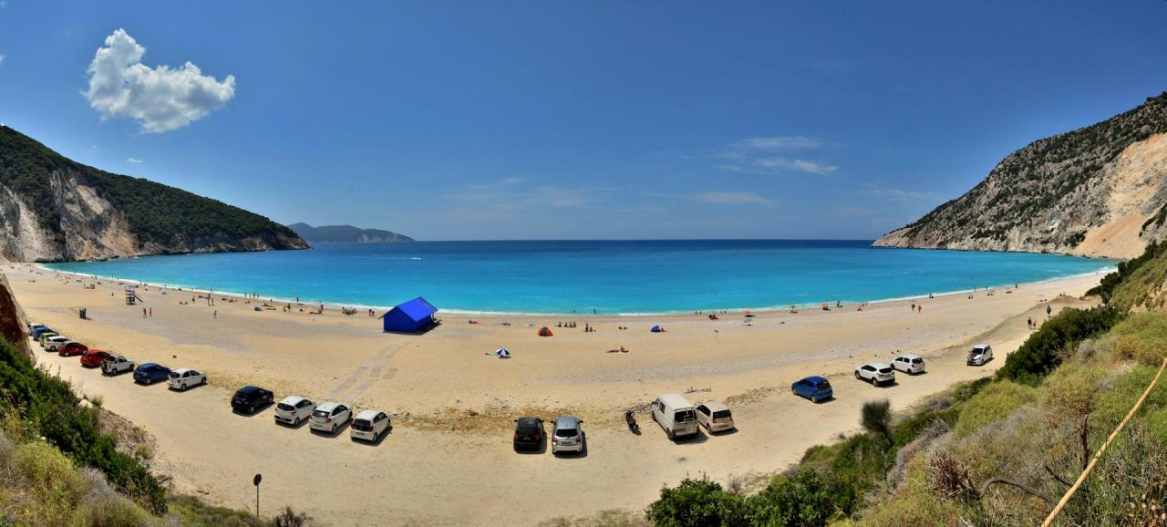 Плажа Миртос-Кефалония