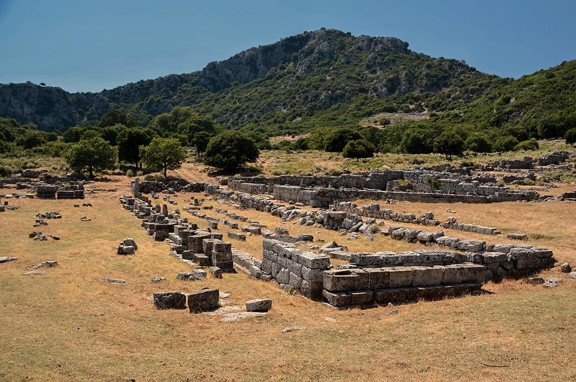The Agora, Kassope, III - II в.пр.н.е