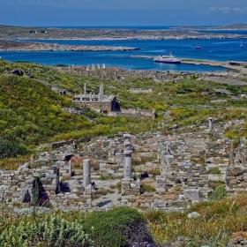 Пейзаж от остров Делос 2