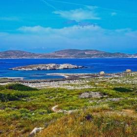 Пейзаж от остров Делос 3