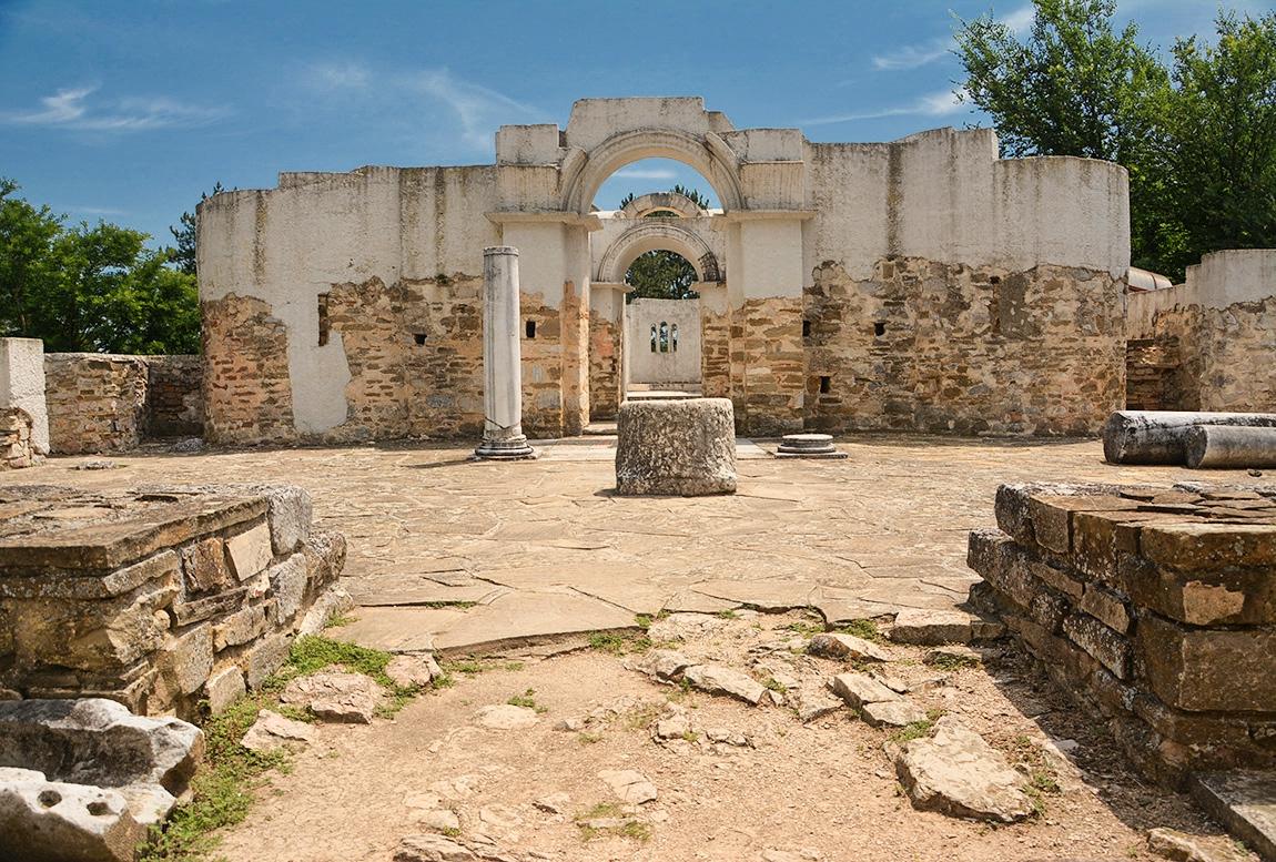 Кръглата църква, 905 г.
