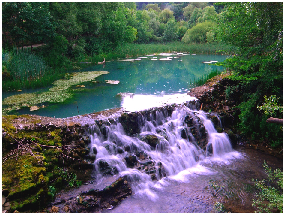 Малък водопад