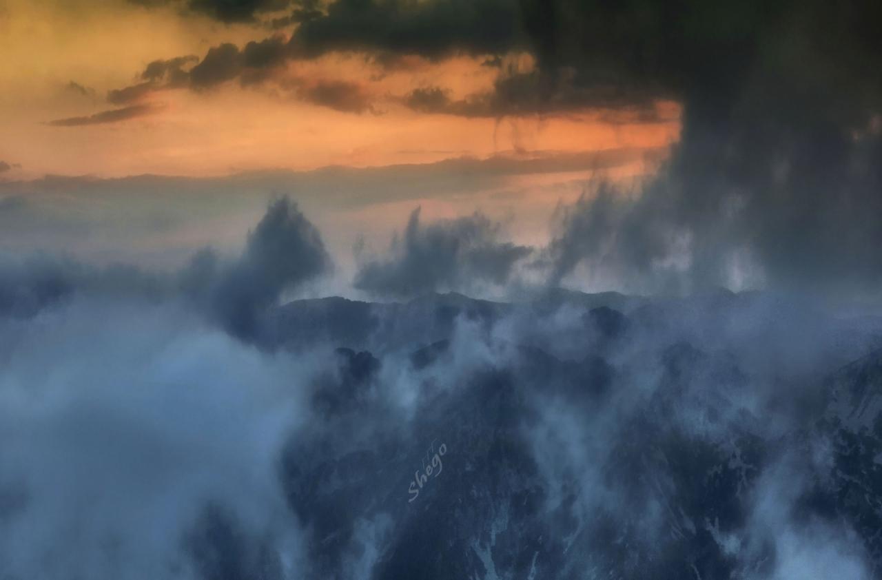 Планината ....... там !
