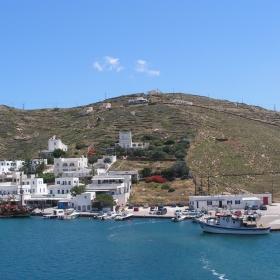 Иос - Пристанище