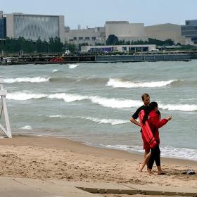 'Lifeguard on duty'