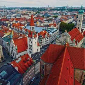 Munich - От птичи поглед
