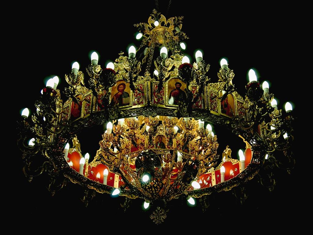 Полюлей в църквата на манастир Свети Георги Белащица