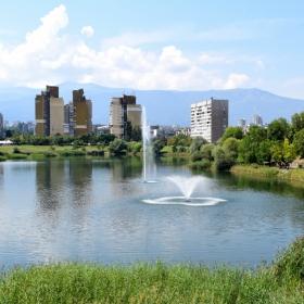 Новият облик на езерото в София, ж.к Дружба 1