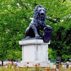 София - Паметник от мемориала на Първи и Шести пехотен полк