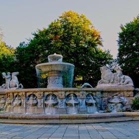 Munich - Witelsbach Fountain