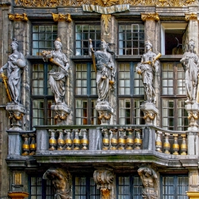 Брюксел - Фасада