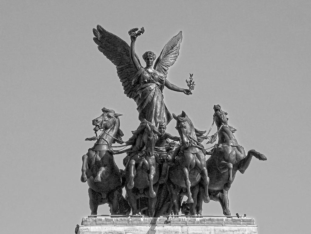 Скулптура над Адмиралтейската арка