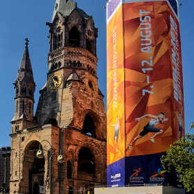 Kaiser Wilhelm Gedachtnis Kirche, 1895 г. - 2018 European Athletics Championships*