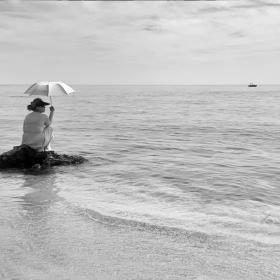 На самотен остров...
