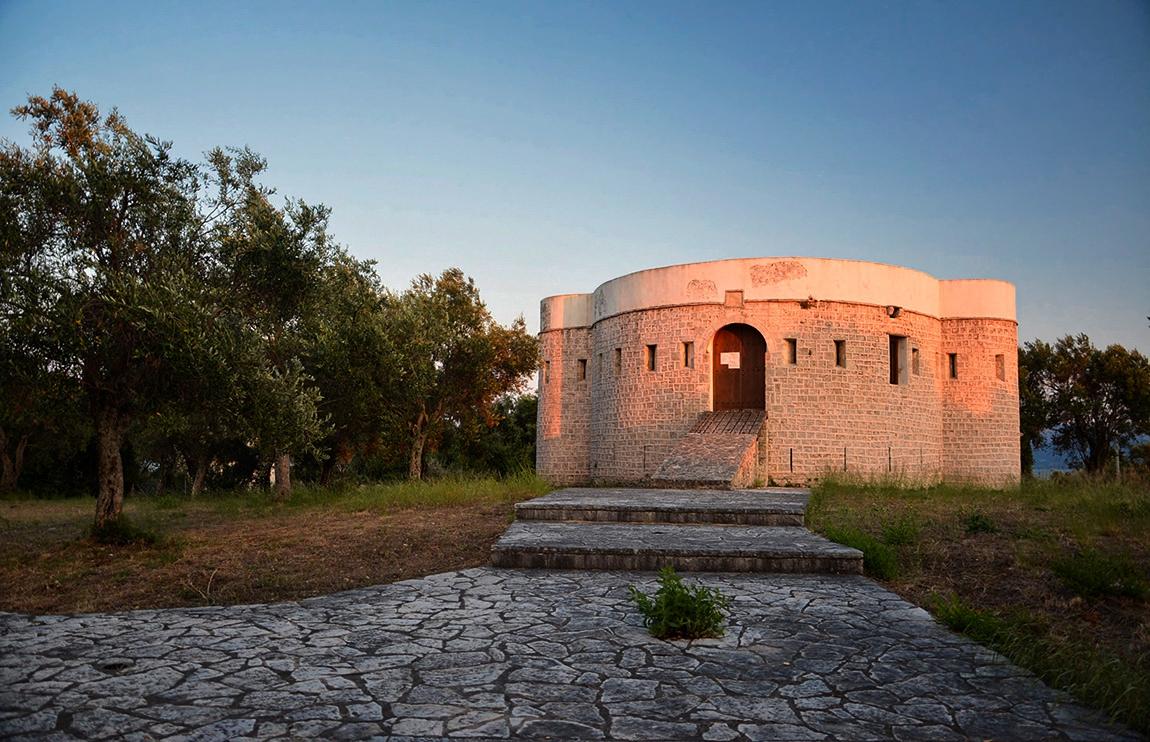 Fort Koulia Koronisias*, 1808 г.