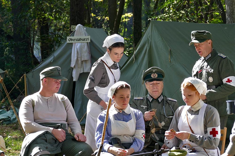 Възстановка на събития от времето на Втората Световна война