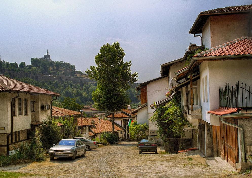 Уличка във Велико Търново