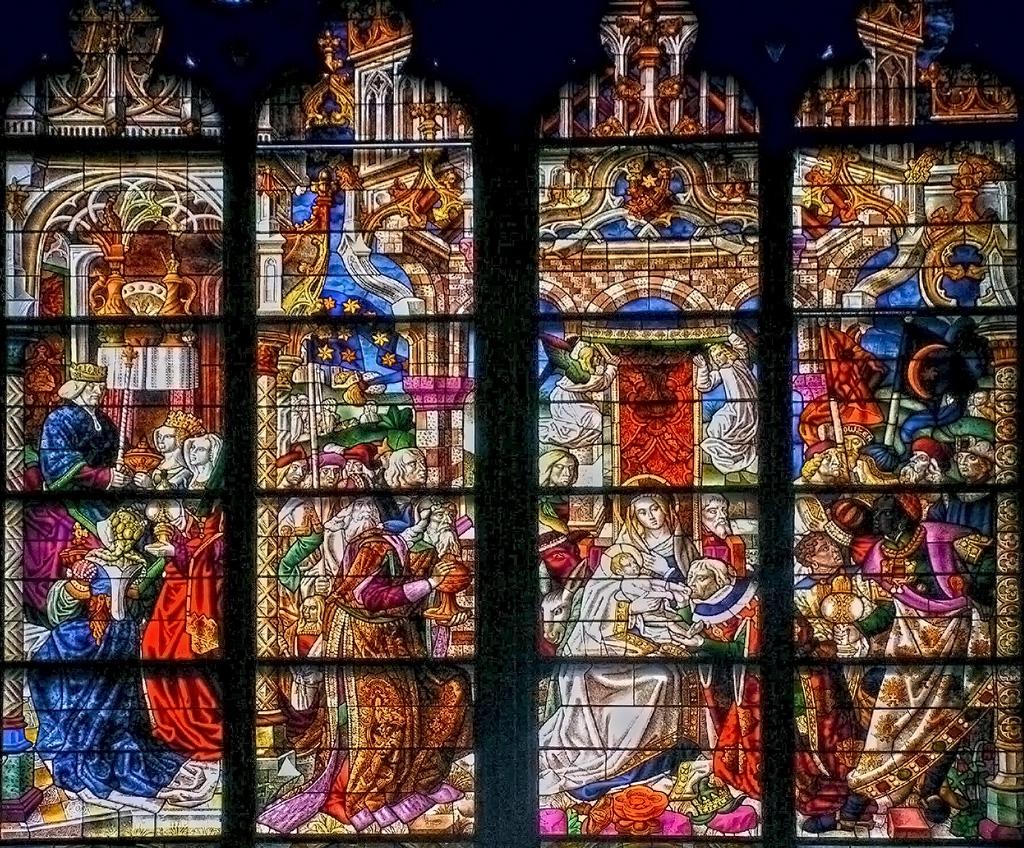 Кьолнска катедрала - Витраж