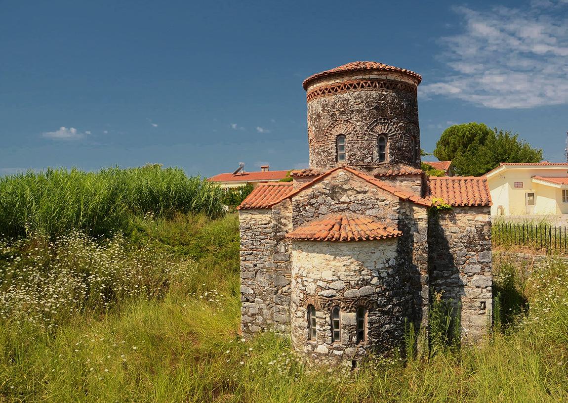 Church of Ayios Basilios Gefyra, IX век