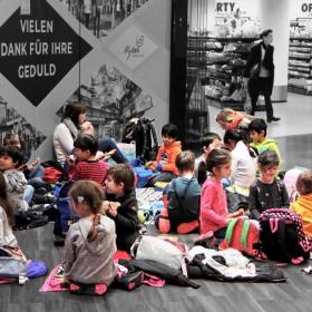 Деца в мола