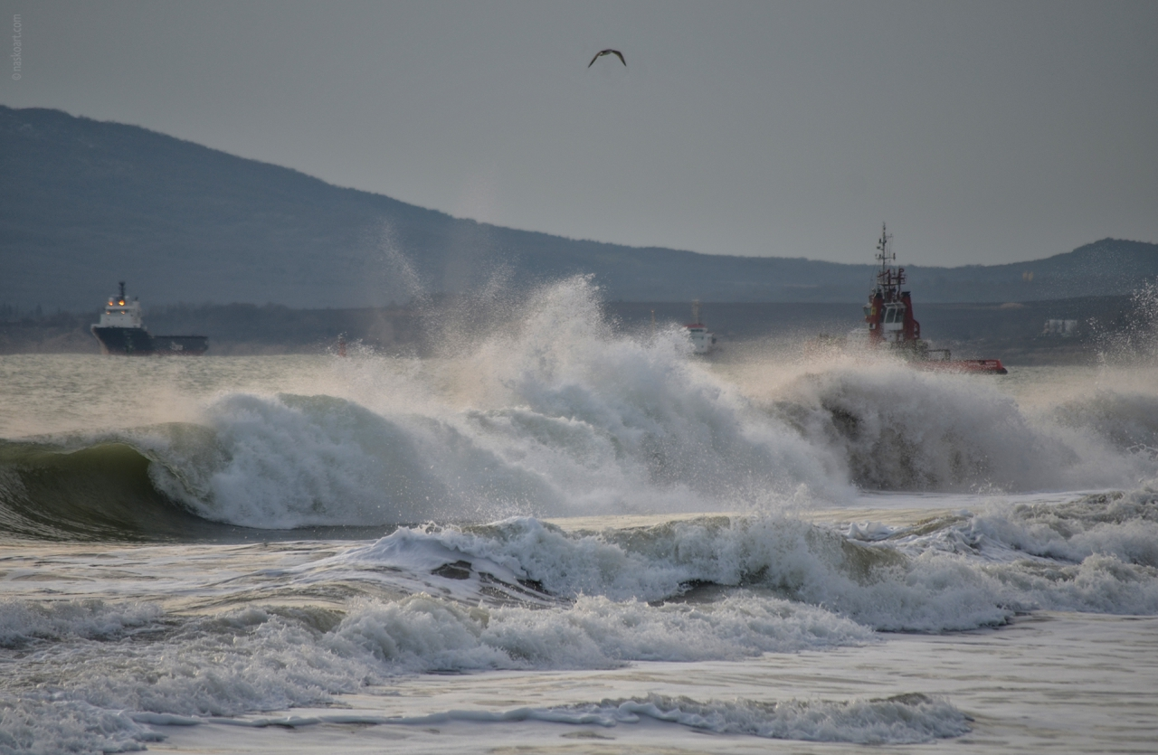 Морето се вълнува