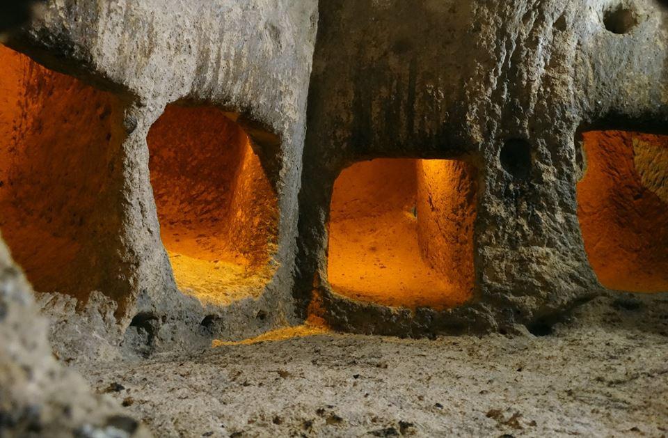 В подземния град-Кападокия
