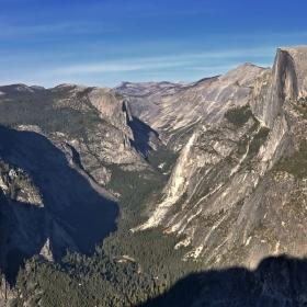 Half Dome - 1444 метра над долината