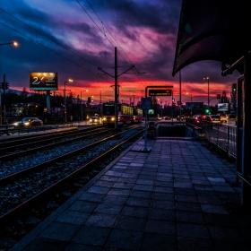 Залез над София