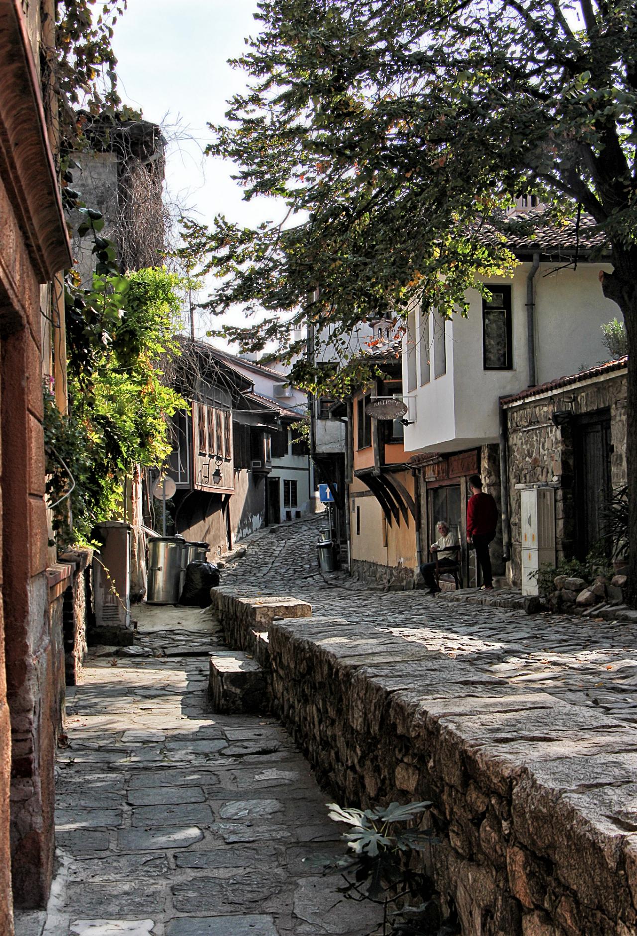 Красотата на стария Пловдив