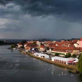Storm over Maribor