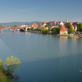 Стари мост_1913 г. и Водната кула*_1555 г.
