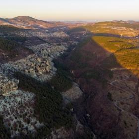Скалите край село Дъждовница