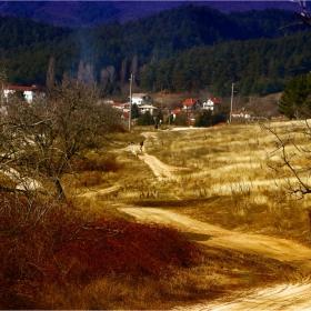 Път към селото